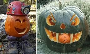 Best Halloween Pumpkin Carvings - carved pumpkins ideas interesting halloween pumpkin carving skull