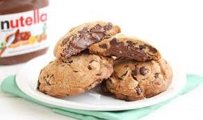 nutella stuffed chocolate chip cookies recipe for world nutella