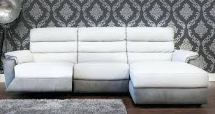 Corner Sofa Ebay Recliner Corner Sofa Brown Diego Fabric Ebay Full Leather