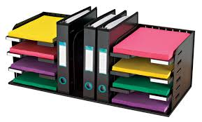 Desk Organizer Shelf Documate Organizer 7 Dividers 1 Hanging Filedo80h 208