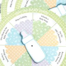 baby showergames spin the baby bottle baby shower 4 pcs baby shower