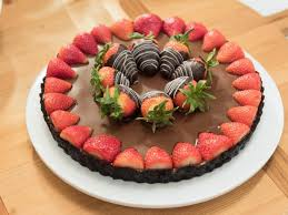 chocolate covered strawberry tart recipe food network