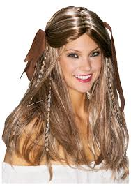 wigs for halloween womens pirate wigs hair wig long