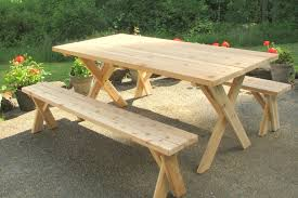 picnic table plans detached benches plans picnic table plans detached benches picnic table plans
