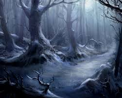 really scary halloween background spooky forest wallpaper wallpapersafari