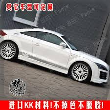 audi decals speed audi tt car pull flower stickers affixed color bar
