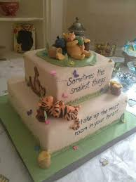 winnie the pooh baby shower cakes classic winnie the pooh baby shower cake cakes