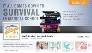 facebook weekday themes award winning facebook page acts as med student survival guide