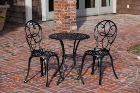 Cast Iron Patio Furniture Sets by Amazon Com Patio Sense 3 Piece Antique Bronze Cast Aluminum