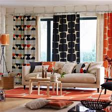 Scion Curtain Fabric Made To Measure Pair Of Curtains Scion Lohko Fabric Collection