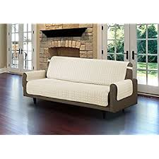 Beige Sofa And Loveseat Amazon Com Linen Store Quilted Microfiber Pet Furniture Protector