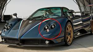 pagani zonda side view did you ever notice the real face of a pagani zonda