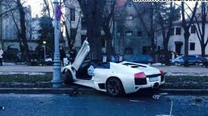 Lamborghini Murcielago 2014 - lamborghini murcielago lp640 roadster crashed heavily in romania