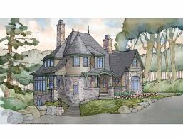 Storybook Cottage House Plans 1579 Best House Plans Images On Pinterest Vintage Houses