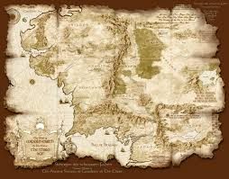 Map Of Mordor Cool Little Map