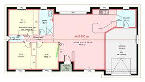 plan plain pied 3 chambres maisons plain pied 3 chambres de 93 m construite par demeures