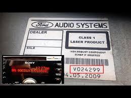 ford radio codes from serial number v m c7 bp find u0026 decode