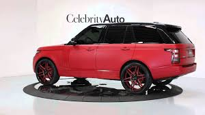 range rover modified red 2013 land rover range rover sc frt u0026 rear climate pkg rear ent