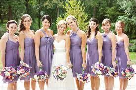 Light Gray Bridesmaid Dress Purple Dream Big