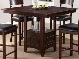 Dark Kitchen Tables by Counter Height Kitchen Table And Chairs Scott Counter Height