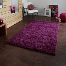 Bright Purple Rug Vista Shaggy Rugs 2236 Purple Free Uk Delivery The Rug Seller