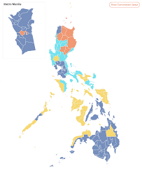 Election Map Interactive Off The Map An Alternative Way Of Visualizing The Philippine
