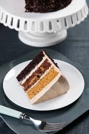 butterscotch pumpkin chocolate cake hungry rabbit