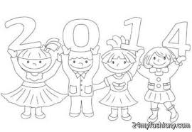 happy new year coloring pages for kids images 2016 2017 b2b fashion