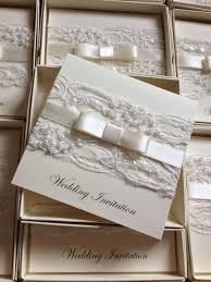 Wedding Invitation Card Sample In New Personalised Handmade Luxury Vintage Lace Bespoke Wedding