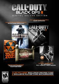 Call Of Duty World At War Zombies Maps by Amazon Com Call Of Duty Black Ops Ii Digital Deluxe Edition