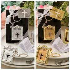 wedding favor keychains mini bible keychain favors set of 12
