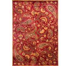Paisley Area Rugs Paisley Area Rug Lowes Teal Residenciarusc