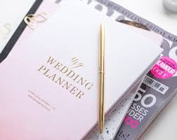 the wedding planner and organizer wedding planner etsy