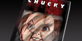 chucky mask out mezco toyz new child s play of chucky