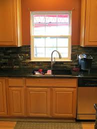 Slate Tile Backsplash Pictures And by Ceramic Tile Backsplash Installation Installing Slate Tile Kitchen