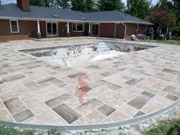 Photos Of Concrete Patios by Concrete Pool Deck Greenville Sc Unique Concrete Design Llp