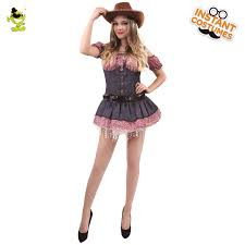 Halloween Costumes Cowgirl Woman Buy Wholesale Women Western Costume China Women