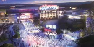 Marcus Amphitheater Map Summerfest To Build New Amphitheater Sponsored By American Family