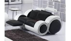 canap design relax canap noir et blanc design amazing x with canap noir et blanc