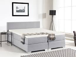 Spring Bed by Box Spring Bed 160x200 Cm Upholstered Bed Super King Size