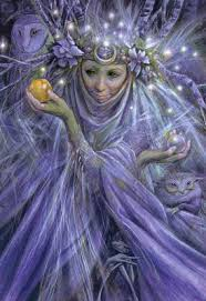 fairy grandmother the fairy godmother the high priestess of the fairies oracle by