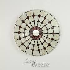 Nostalgische Esszimmerlampen Mediterrane Deckenleuchte 8091 Aus Buntglas Nostalgische Lampe