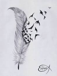 crow feather tattoo designs by dirtyinks deviantart com on