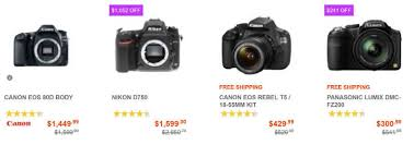 black friday canon rebel best camera deals on black friday 2016 canada