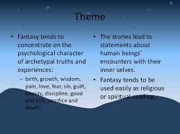 archetypal themes list elements of fantasy literature