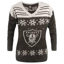 raiders light up christmas sweater women s light up sweater