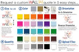 create your own stickers u0026 personalized wall decals walltat