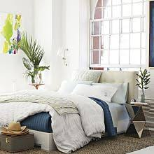 Platform Bed With Headboard Modern Headboards U0026 Platform Beds West Elm