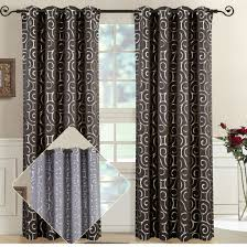 best deals on abstract tuscany jacquard curtain panels with