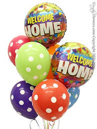 welcome home balloon bouquet special occasion balloons same day delivery orange county ca florist